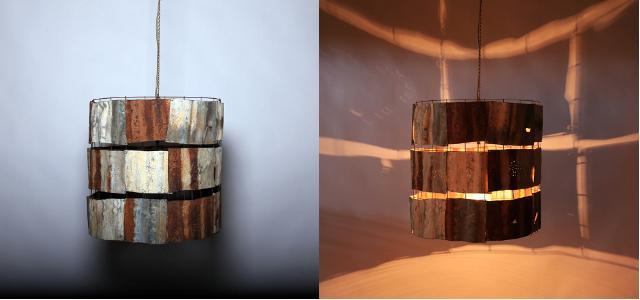 Patchwork - Corrugated Iron 570 x 570 Weight 5kg
