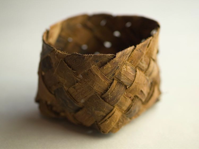 tim johnson - willow bark basket